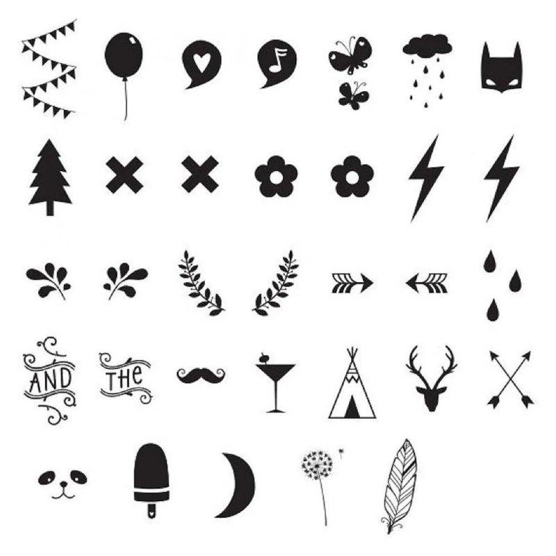 Натуралистическая тематика эскизов для тату