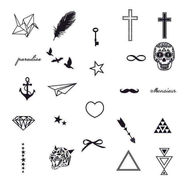 Самые популярные фигурки эскизы для тату