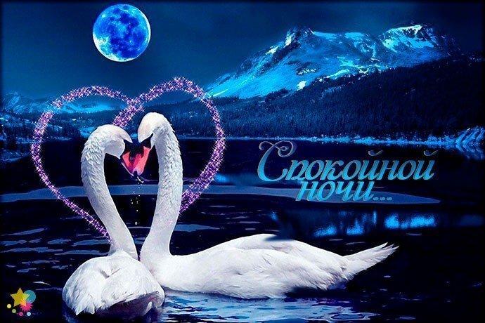 Картинка с пожеланием спокойной ночи