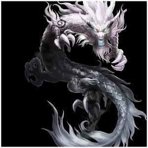 Китайский речной дракон рисунок для тату