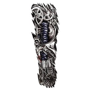 Эскиз тату в стиле механики