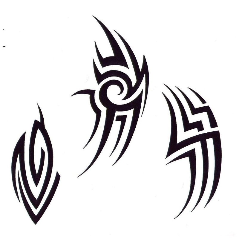 Эскизы тату в стиле маори