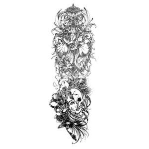 Эскиз тату с религиозными элементами