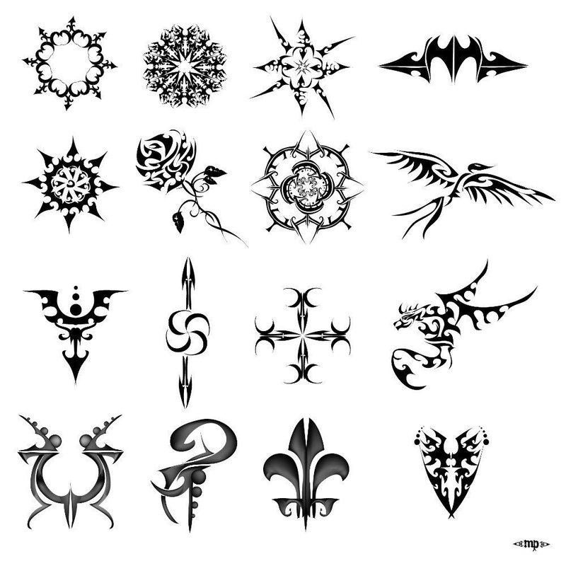 Эскизы символы для тату