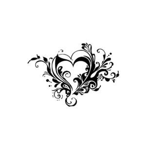 Красивый эскиз сердце