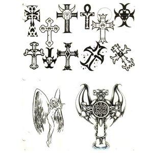 Эскизы тату с крестами