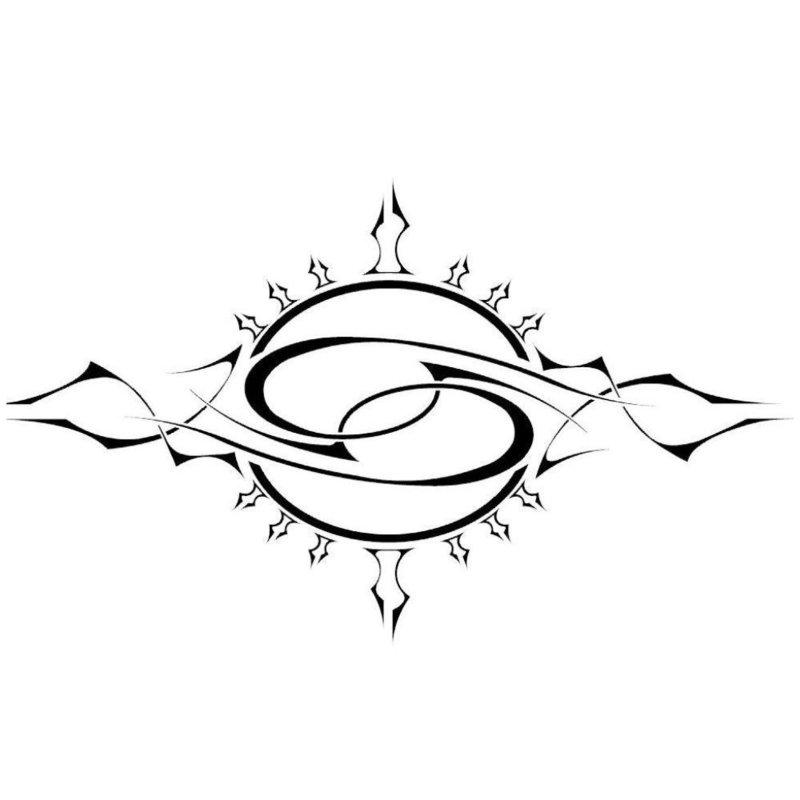 Эскиз для тату символика