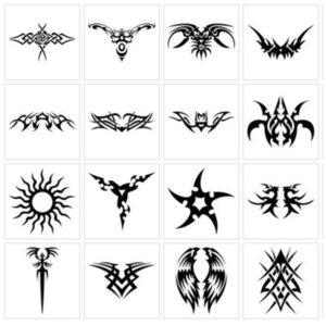 Символы эскизы для тату