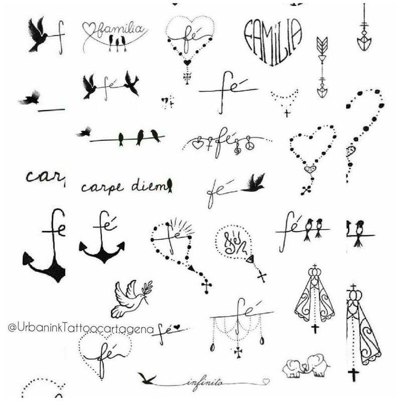 Маленькие рисунки эскизы для тату