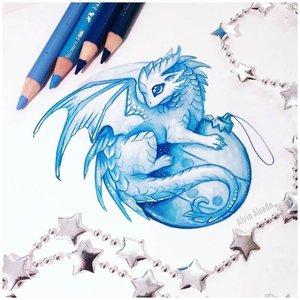 Эскиз тату дракон