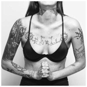 Женская тюремная татуировка на тело