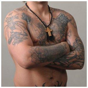 Татуировки по телу