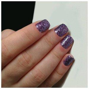 Фиолетовый глиттер