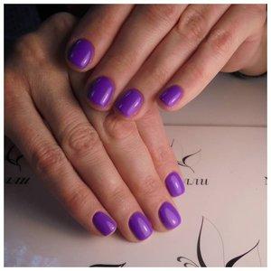 Яркий фиолетовый шеллак