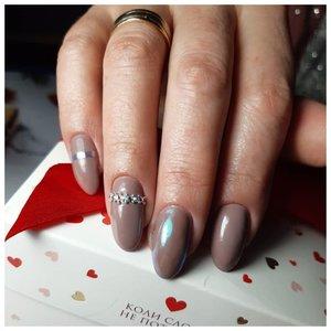 Коричневые ногти
