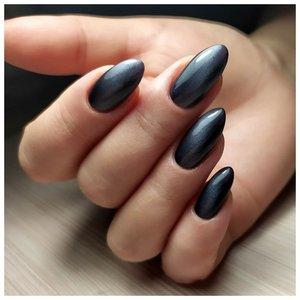 Черные длинные ногти