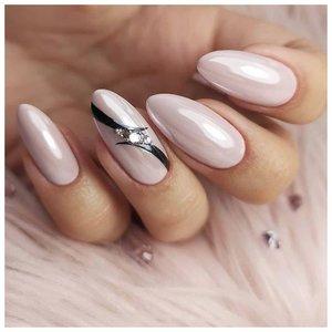 Красивые ногти с втиркой
