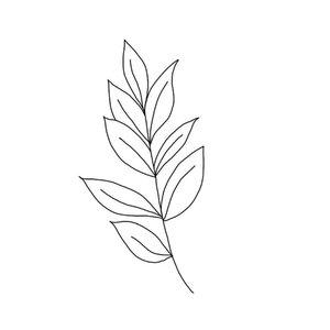 Лист эскиз для татуировки