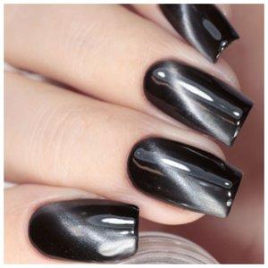 Черные красивые ногти