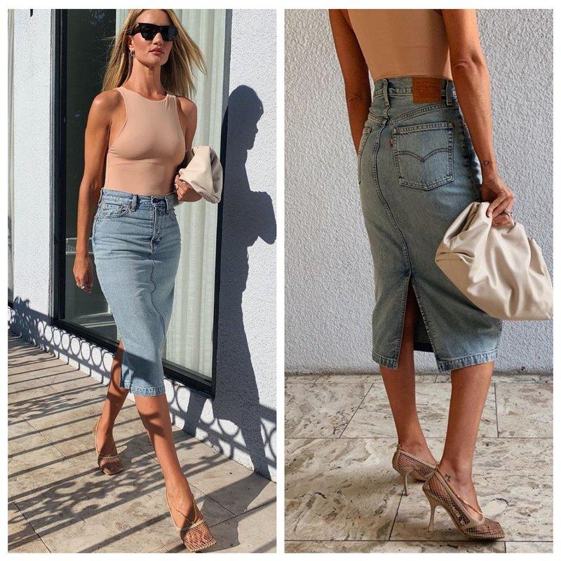 Самая модная юбка весна-лето 2020