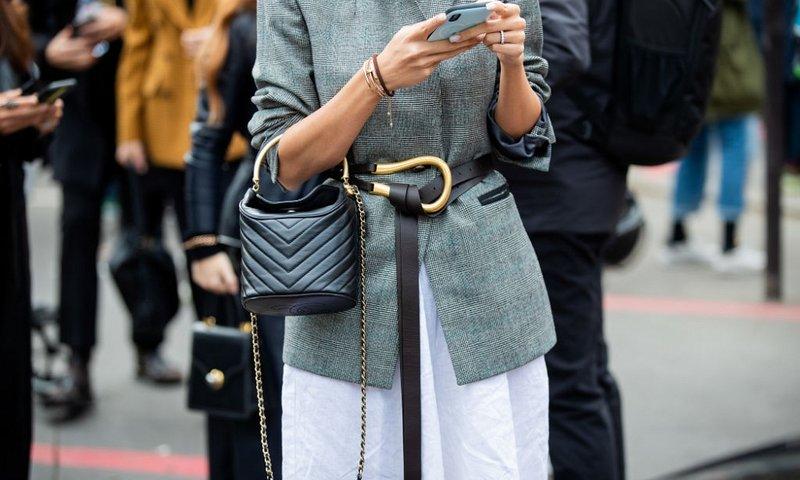 Модный ремень Bottega Veneta