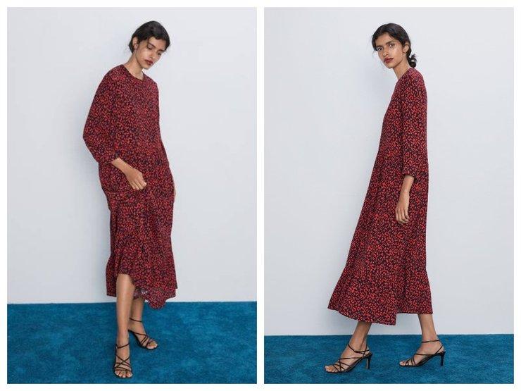 Самое модное платье Зара