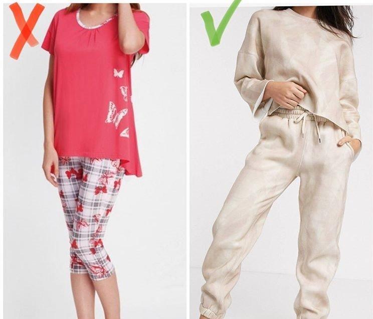 Модная и немодная пижама