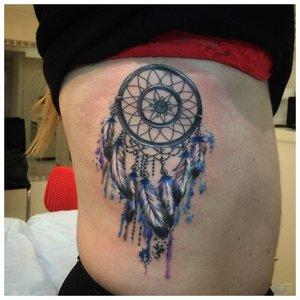"""Татуировка """"ловец снов"""""""