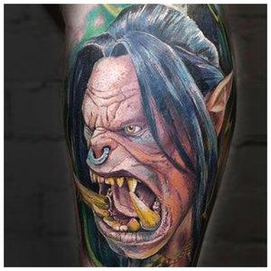 Страшная татуировка
