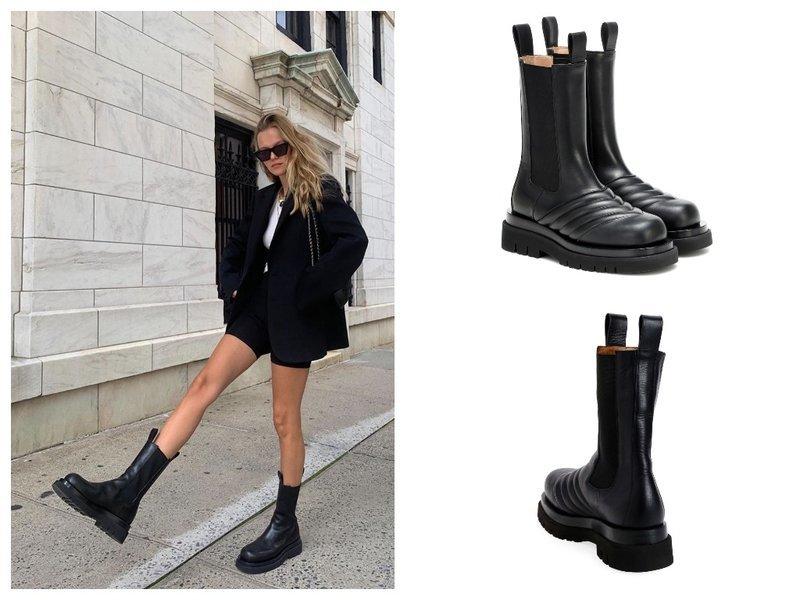Модные combat boots