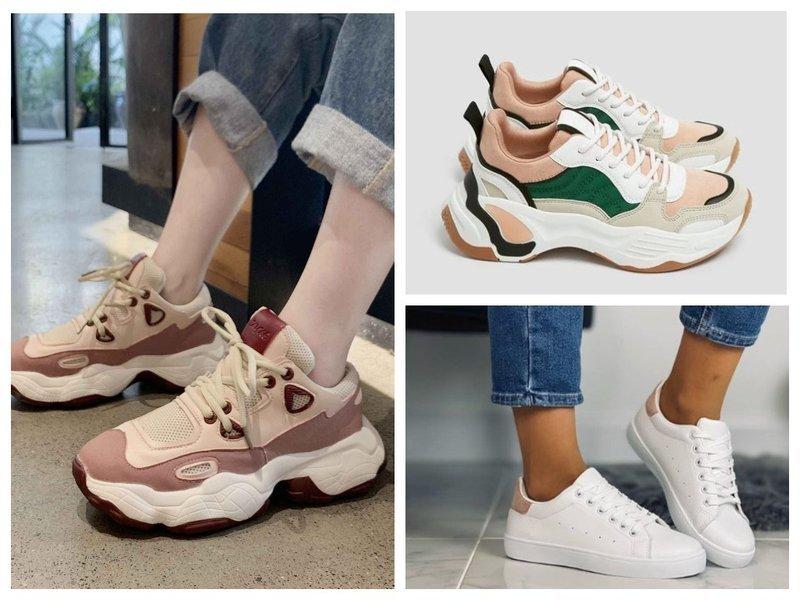 Модные кроссовки и кеды