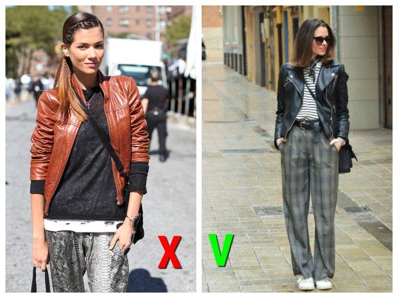 Кожаные куртки модные и немодные