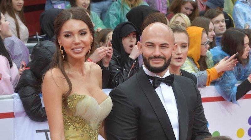 Джиган и Оксана на премии Муз ТВ