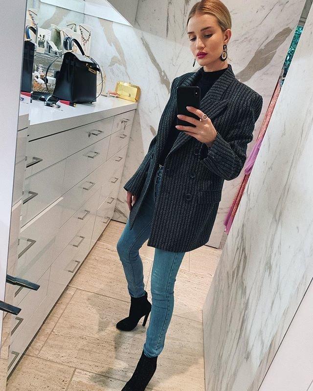 Красивый образ с пиджаком