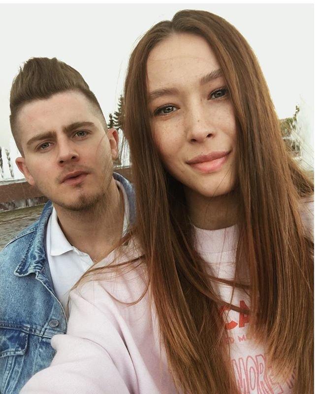 Вячеслав Дайчев с возлюбленной Сашей