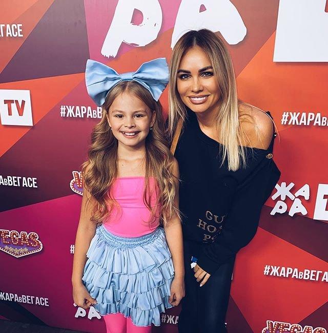 Ирина Маирко с дочерью Миланой