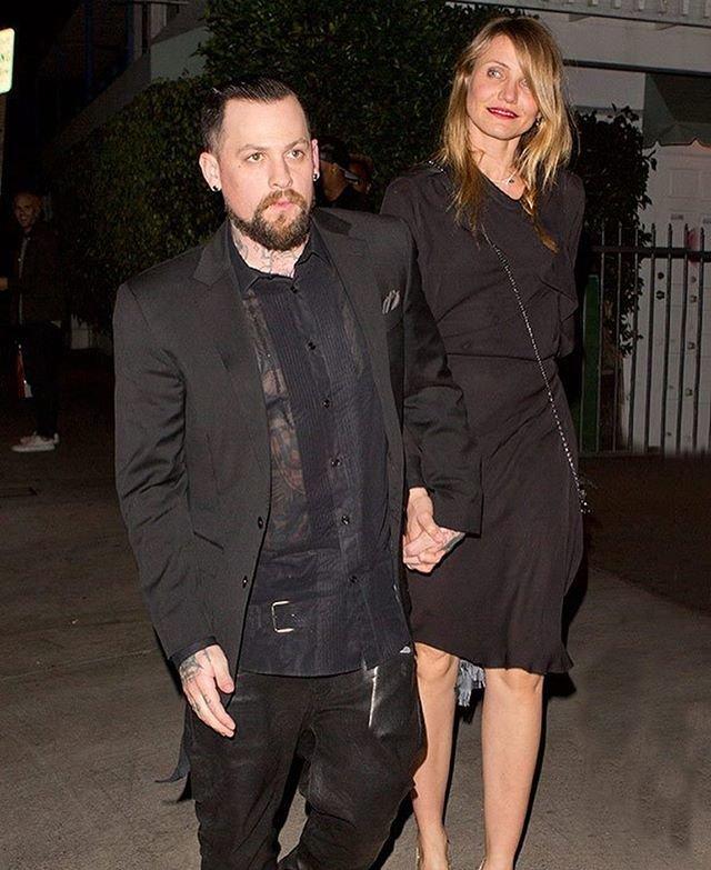 Кэмерон Диас с мужем