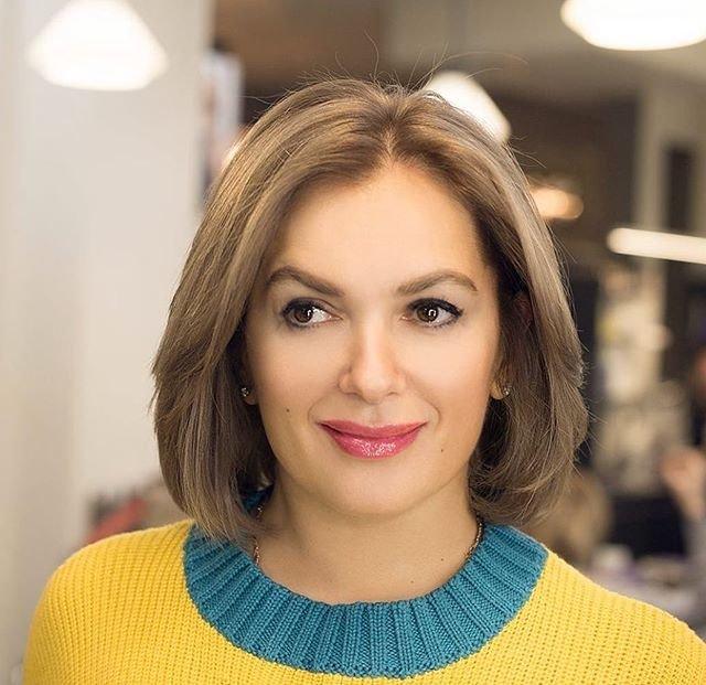 Мария Порошина новая прическа