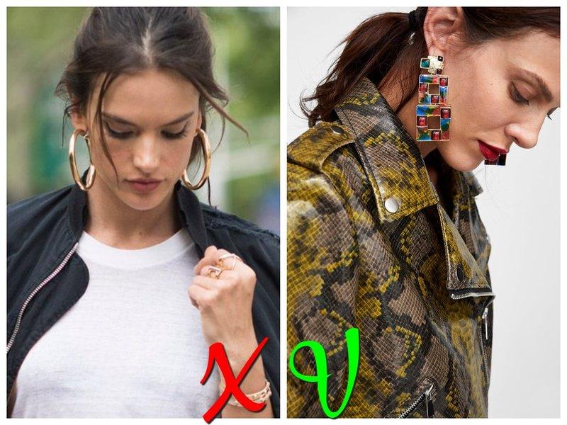 Модные сережки лето 2020