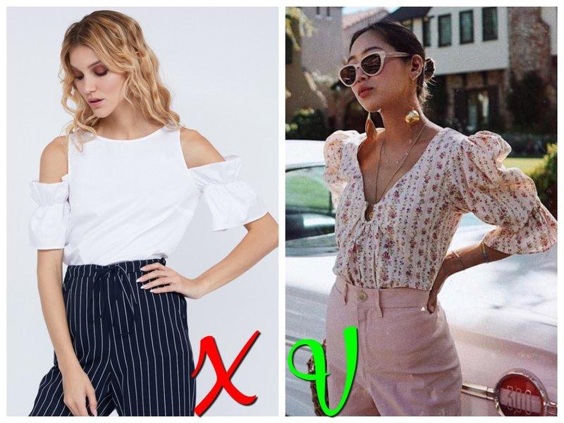 Модная блузка лето 2020