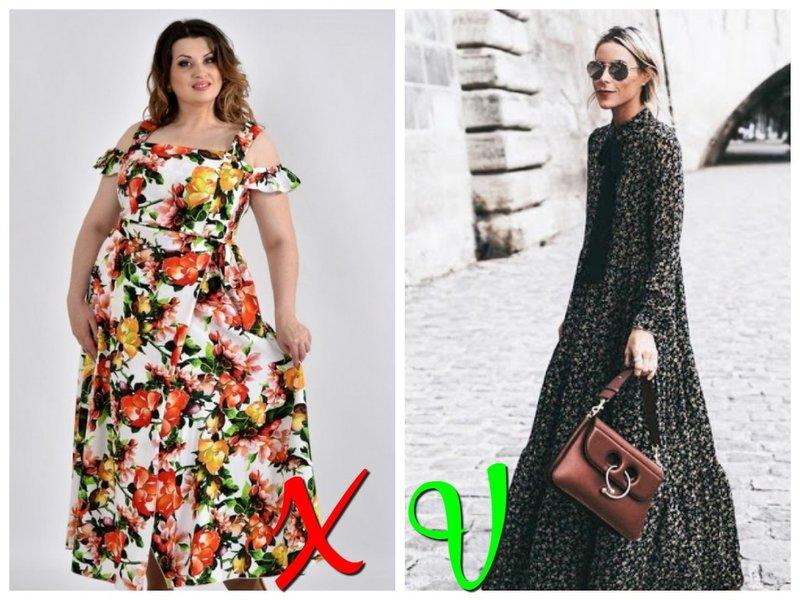 Модное платье с цветами лето 2020