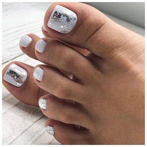 Дизайн с фольгой для ногтей