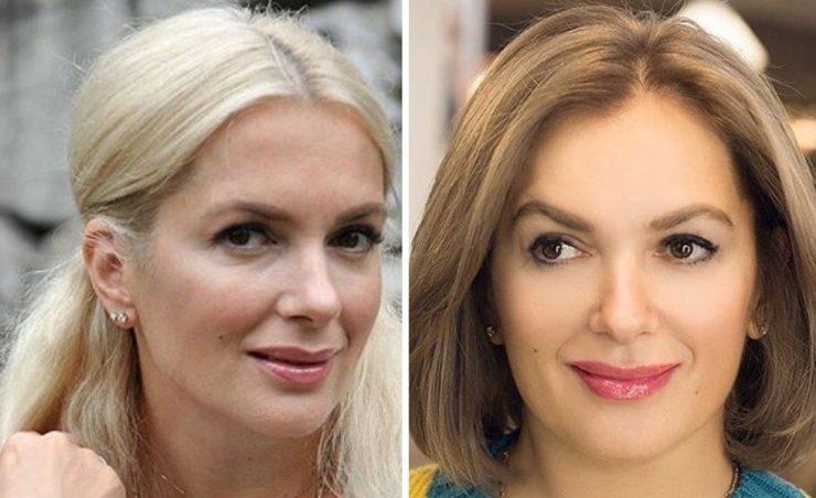 Мария Порошина новая стрижка и цвет волос
