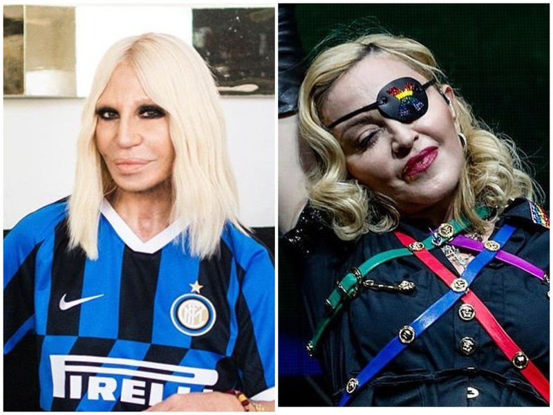 Донателла Версаче и Мадонна 2020