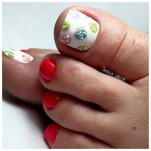 Рисунки для ногтей на ногах