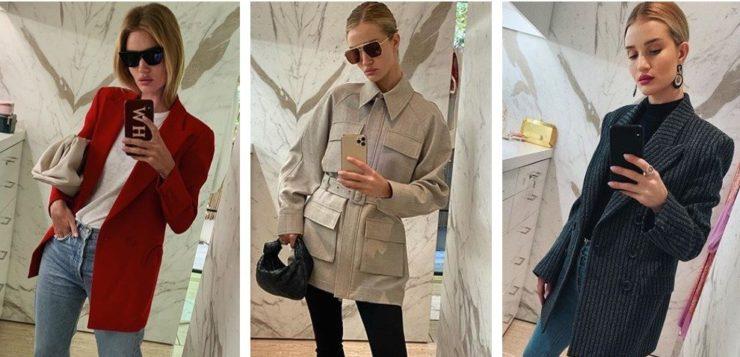 Модные образы с пиджаком