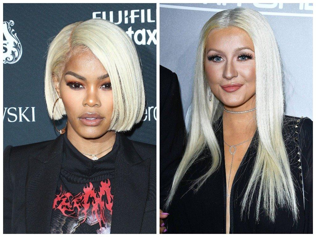 Платиновые блондинки - знаменитости