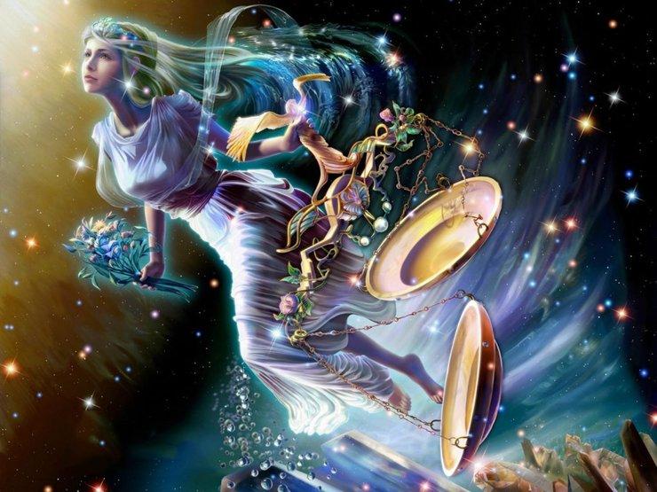 Знак зодиака Весы - гороскоп