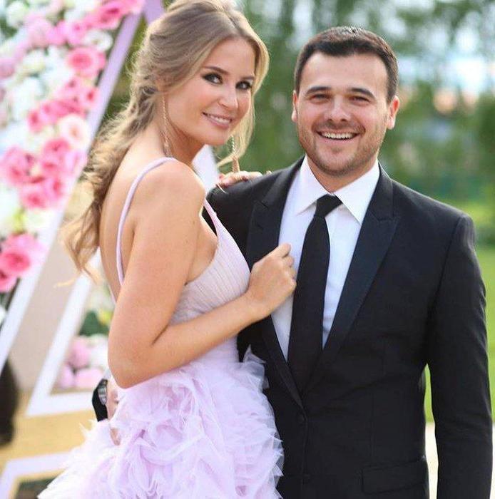 Эмин Агаларов с Аленой Гавриловой