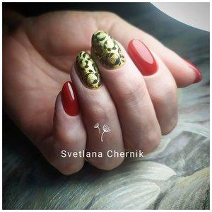 Дизайн на ногтях стемпинг